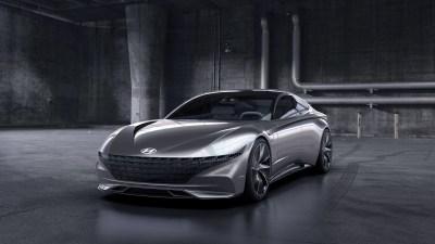 Hyundai concept previews new design language