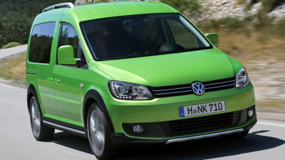 VW Reveals High-riding Cross Caddy