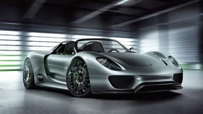 Porsche 918 Spyder On Sale In Europe
