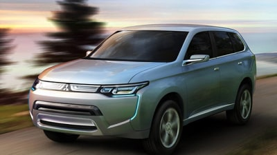 2013 Mitsubishi Outlander Previewed As PX-MiEV II Concept