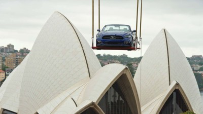 Ford Celebrates Mustang's 50th Birthday With Sydney New Year's Party