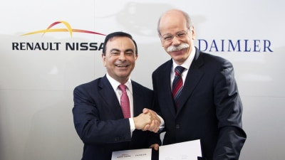 Daimler And Renault Nissan Partnering On New Engines, Transmissions