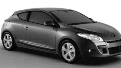 2009 Renault Megane Coupe Images Revealed