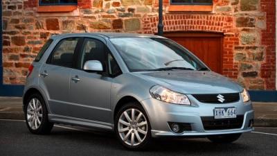 2011 Suzuki SX4 Gains ESC, More Airbags