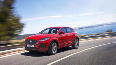 2018 Jaguar E-Pace Debuts Overseas