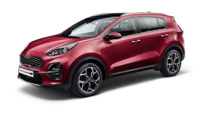 Updated Kia Sportage revealed