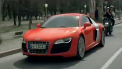 2009 Audi R8 Strikes Fear Into The Heart Of Maranellans