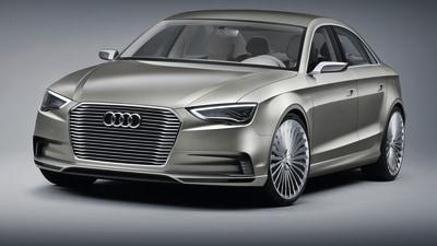 Audi A3 e-tron Sedan Concept Shown At Shanghai
