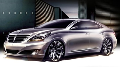 2010 Hyundai Equus Sketches Revealed, Korean Car Owners Heave A Sigh Of Relief
