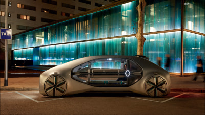 Renault reveals the taxi of tomorrow