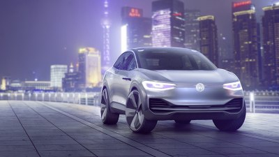 Volkswagen Previews Electric SUV With I.D. Crozz Concept