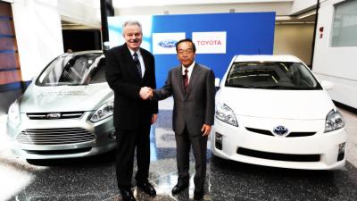 Toyota, Ford Partnering On Hybrid SUVs And Light Trucks