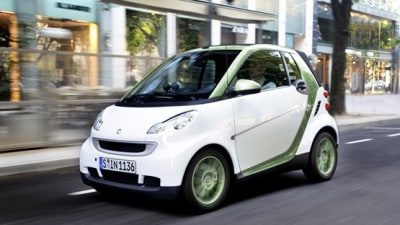 "2012 Smart Fortwo Electric Drive Enters Production, Aus Debut ""In Next Five Years"""