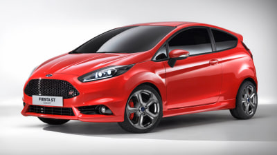 Ford Fiesta ST Concept Revealed, Previews New Face