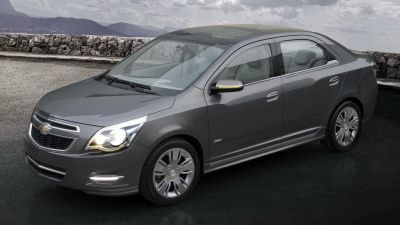 2012 Chevrolet Cobalt Concept Revealed In Buenos Aires