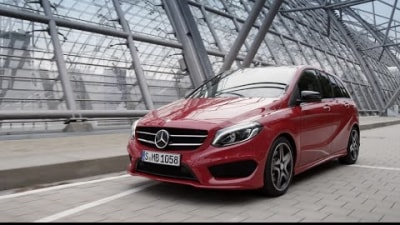 2015 Mercedes-Benz B-Class Unveiled Ahead Of Paris: Video
