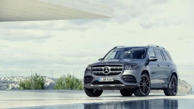 New Mercedes-Benz GLS revealed