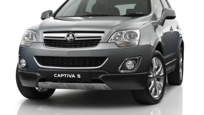 2013 Holden Captiva Gains 5 LTZ Model, New Six-speed Auto Across Range