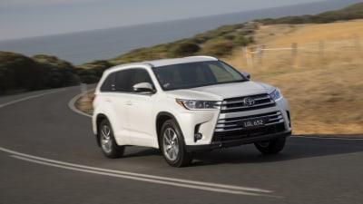 2018 Toyota Kluger Receives Safety Upgrade