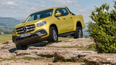 Mercedes mulls tricked-up X-Class for Oz