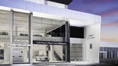 Australia's Largest Rolls-Royce Showroom Opens In Melbourne
