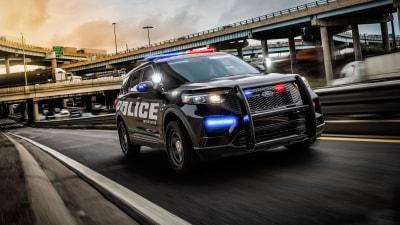 Ford cop cars turn up the heat to kill coronavirus