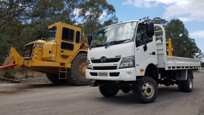 Hino 300 Series 4x4 review