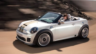 MINI Roadster Concept Unveiled At Frankfurt, Production Future Locked In