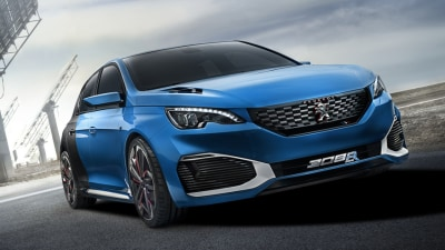 Peugeot Teases Hot 308 Again With New R Hybrid Concept