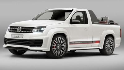 Volkswagen Amarok Power Pickup Concept Hits Wörthersee GTI Treffen