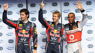 F1: Vettel Wins At Spa After Tyre Blister Controversy, Webber Second