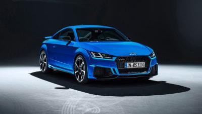 Audi reveals updated TT RS