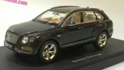 Bentley Bentayga Breaks Cover Early In 1:18 Scale