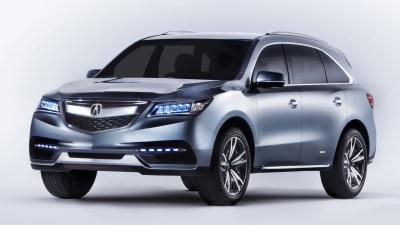 2014 Honda MDX Concept Unveiled At Detroit Auto Show