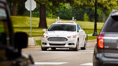 Ford Will Have Volume Production Of Full Autonomous Vehicles In Five Years