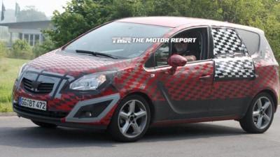 2010 Opel Meriva MPV Spied Testing In Europe
