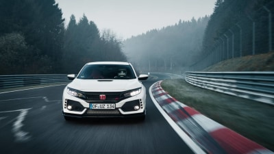 Honda Civic Type R Snares Nurburgring Lap Record