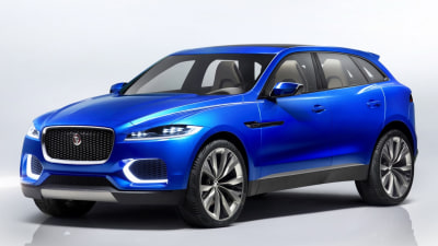 Jaguar C-X17 SUV Concept Revealed
