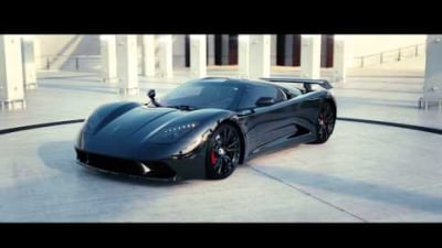 Genty Akylone Supercar Project Promises 895kW, 0-298km/h In 14 Seconds