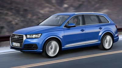 Audi Launches New Entry-Level Q7 Fuel Miser SUV For Europe