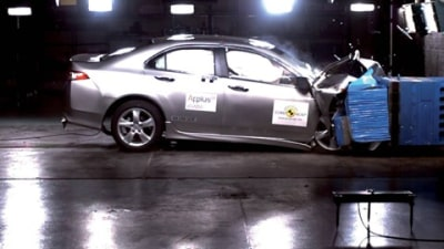2009 Honda Accord Euro Achieves Class-Leading Safety Rating