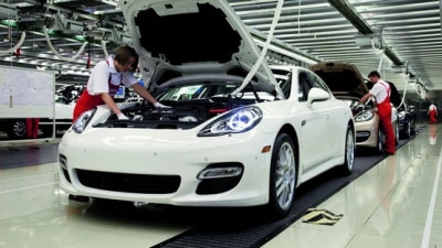 2010 Porsche Panamera Production Begins In Leipzig, Visitors Welcome