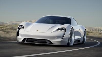Porsche Mission E Concept Revealed - Frankfurt Motor Show