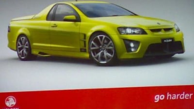 VE Commodore wagon and HSV Maloo Ute