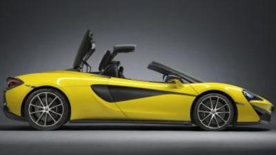 McLaren unveils 570S Spider