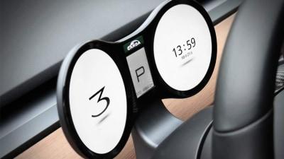 Aftermarket solution for 'missing' gauges in Tesla Model 3