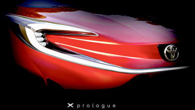 Toyota's first electric car teased: X Prologue SUV