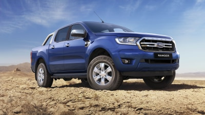 New engine, equipment for Ford Ranger