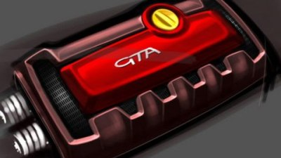 Alfa Romeo MiTo GTA Teaser Sketches