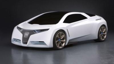 Honda FC Sport Fuel Cell Concept Unveiled